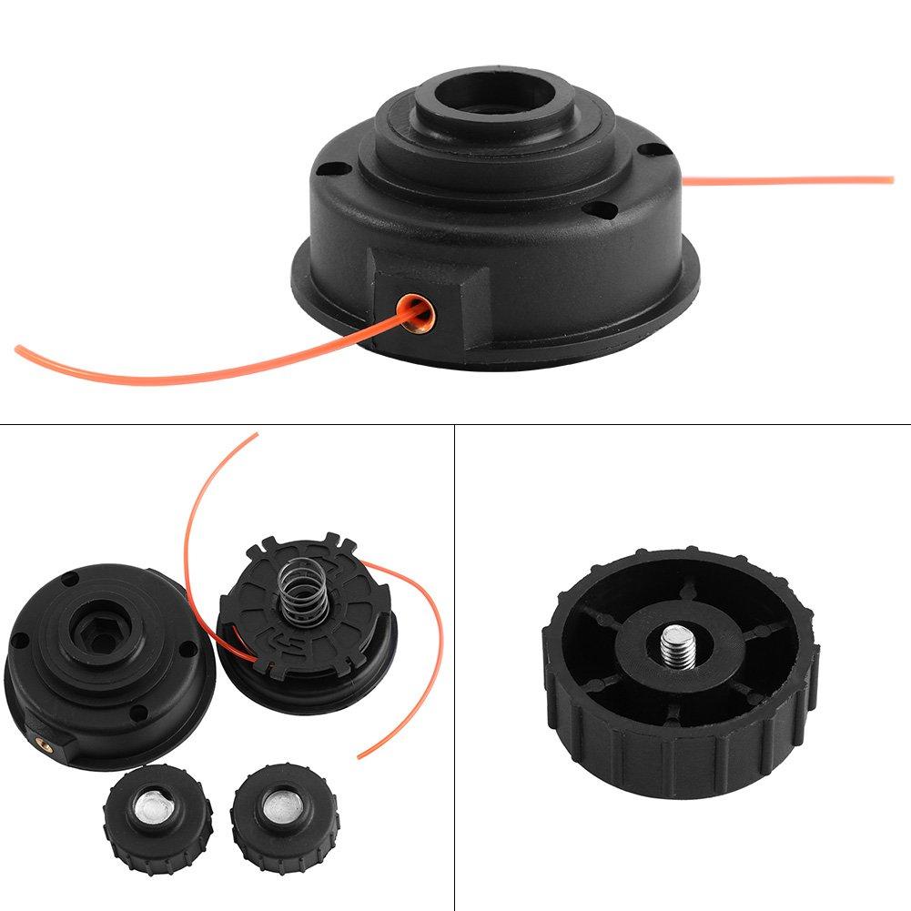 Cabeza del Recortador,Asixx, de Plástico de Alta Calidad,un Gran Accesorio Para Desbrozadora,Para Homelite ST155 ST165 ST175 ST285