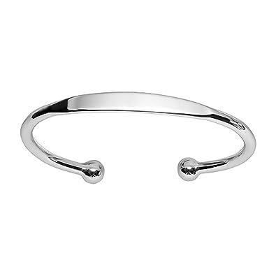 faaaa6deca170 So Chic Bijoux © Bracelet Esclave Modèle Petite Taille Argent 925 -  Personnalisable   gravure offerte
