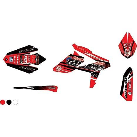 Amazon com: Attack Graphics Custom Blitz Full Trim Kit Red