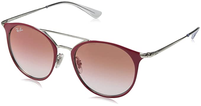 Ray-Ban JUNIOR 0RJ9545S Gafas de sol, Silver On Top Red, 47 ...