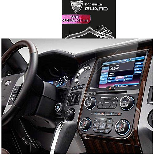 For Ford Explorer Expedition 2016 - 2017 Display Touch Screen Radios Screen Protector Invisible Ultra HD Clear Film Anti Scratch Skin Guard - Smooth / Self-Healing / Bubble -Free By (Expedition Foil)