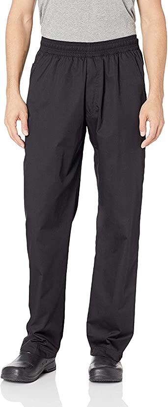 Unisex Chef Work Pants Baggy Trousers Slacks