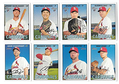 2016 Topps Heritage High (Hi) Numbers (501-725) ST LOUIS ...