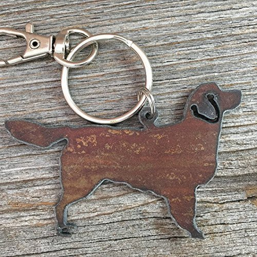 Golden Retriever Key Ring, Golden Retriever Keychain, Golden Retriever Key Chain, Golden Retriever Purse Charm, Dog Key Ring, Dog Keychain, Golden Retriever Gifts, Golden Retriever Lover Gift