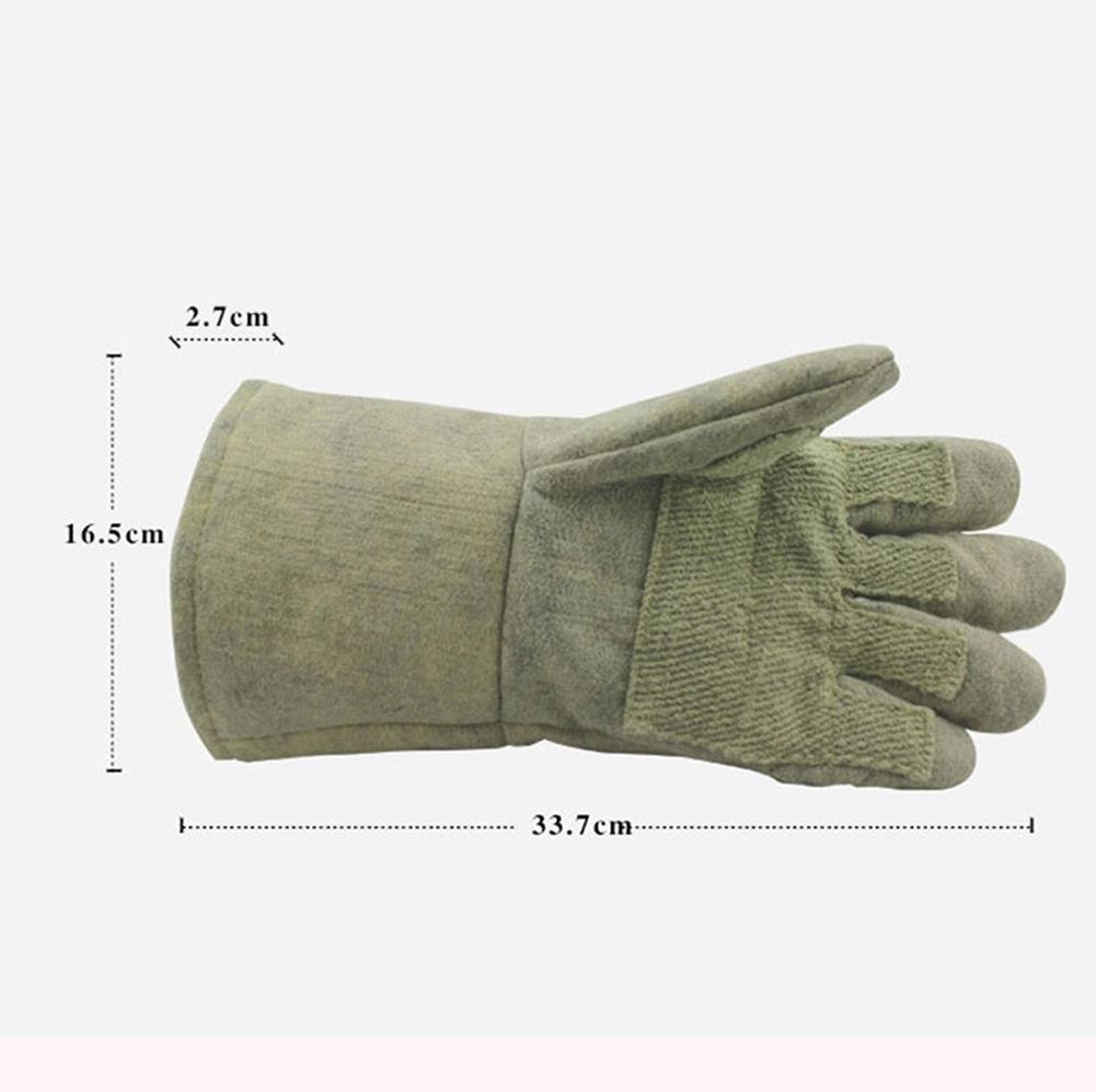 Anti - high temperature 500 ° glove insulation fire - retardant fire protection labor insurance products by LIXIANG (Image #4)