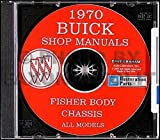 1970 Buick CD-ROM Repair Shop Manual & Body Manual