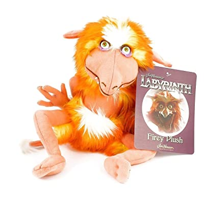 Toy Vault Labyrinth Firey Plush, Creature Stuffed Toy from Jim Henson's Labyrinth Classic Movie: Toys & Games