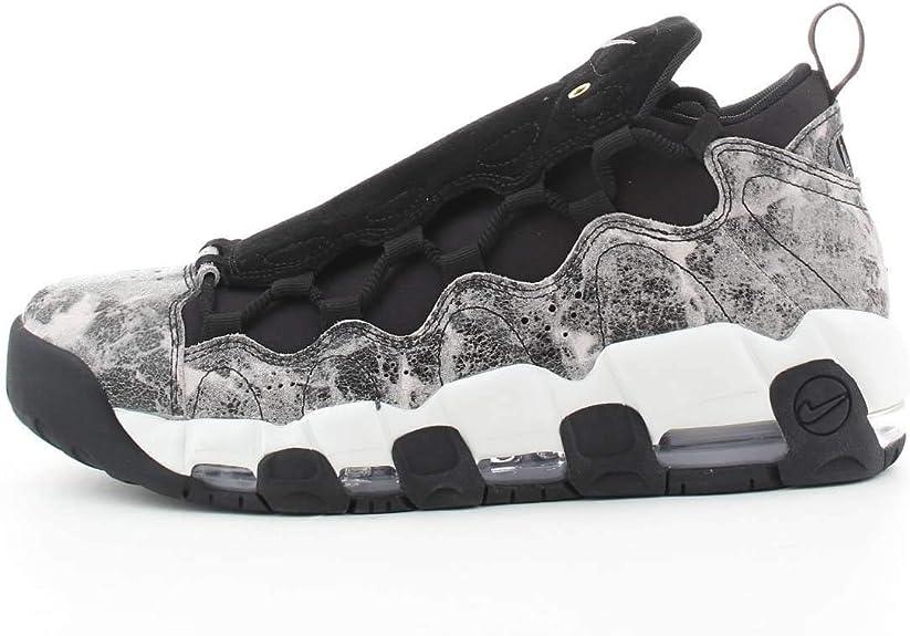 Nike Damen W Air More Money Lx Sneakers, Mehrfarbig Black