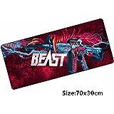 70*30cm Hyper beast M4A1 CS GO mouse pad mat CSGO skins gaming mousepad for CS: GO game gamer