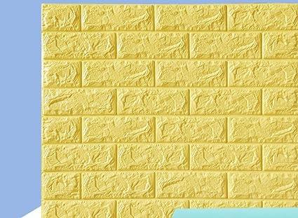 Papier Peint En Briques 3d Papier Autocollant Effet Mur 3d