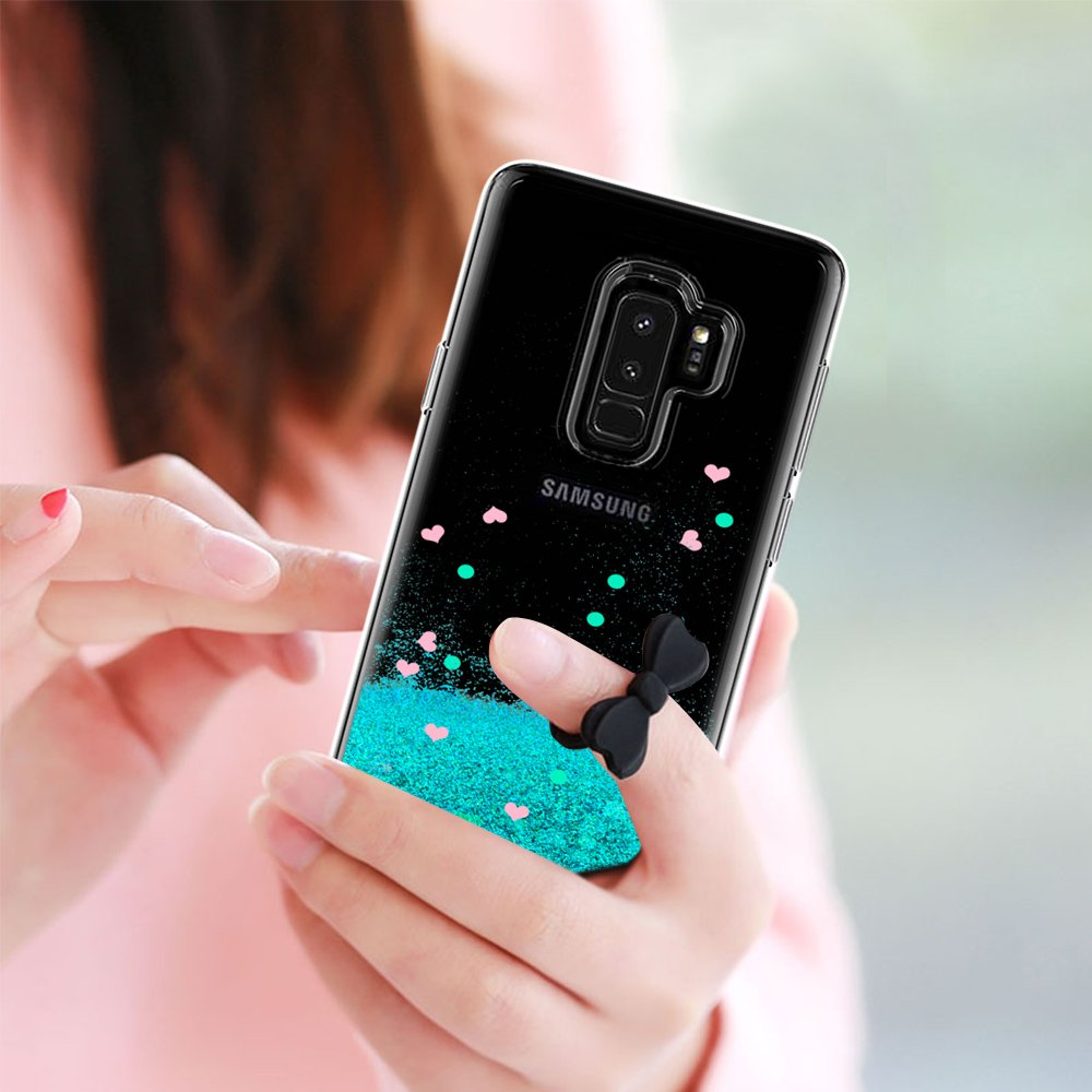 47cf7242 3D Curvo Pet Pantalla LeYi Funda Samsung Galaxy S9 Plus S9+ Silicona ...