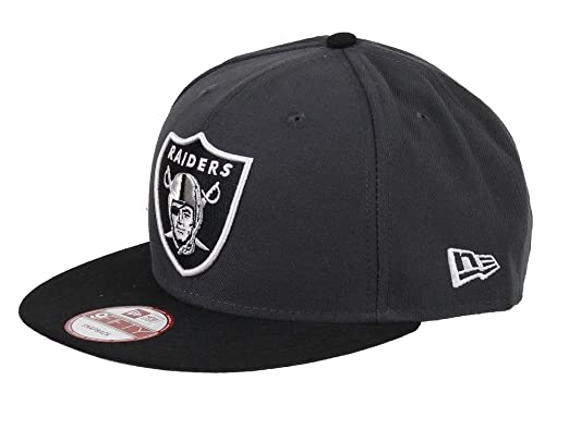 New Era Oakland Raiders 9 Fifty NFL - Gorra Snapback Graphite ...