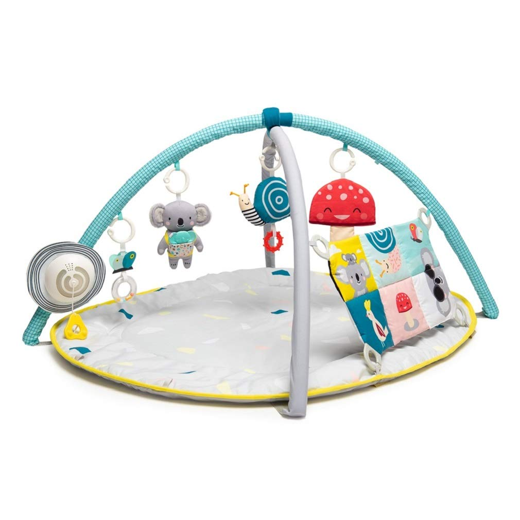 Taf Toys 4 in 1 Music and Light All Around Me Baby Activity Gym Thickly Padded with Soft Mat and a Unique Sensi-Center for a Variety of Body Positioning for Newborn and Up