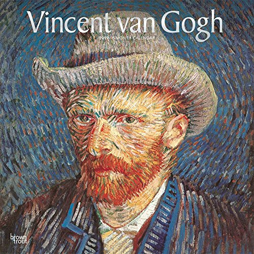 Vincent van Gogh 2019 12 x 12 Inch Monthly Square Wall Calendar with Foil Stamped Cover, Dutch Post-Impressionist Post-Impressionism Art Artist (English, French and Spanish Edition)