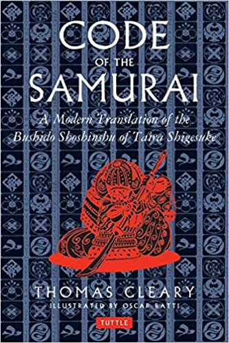 Image result for code of the samurai book