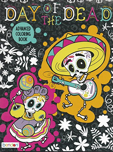 Day of the Dead Advanced Coloring Book ()
