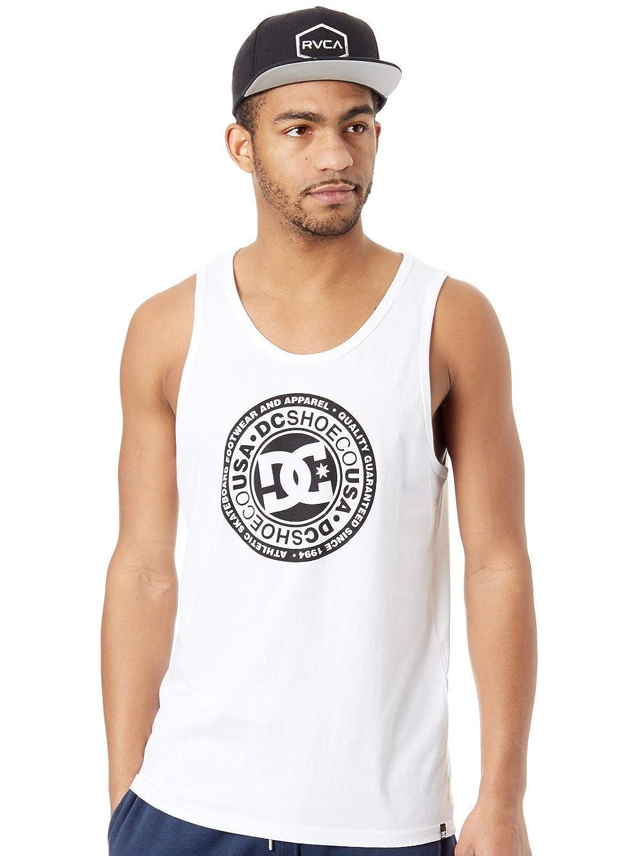 DC Hombre, Shoes Circle Star T-Shirt, Hombre, DC Snow Blanco, M fbb2f5