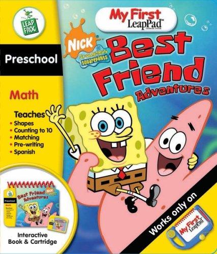 LeapFrog My First LeapPad Educational Book: SpongeBob SquarePants Best Friend Adventures