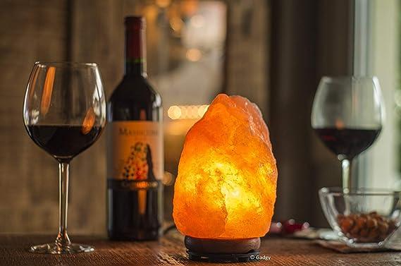 Lampada Di Cristallo Di Sale Ionizzante : Lampada di sale himalayano kg amazon casa e cucina