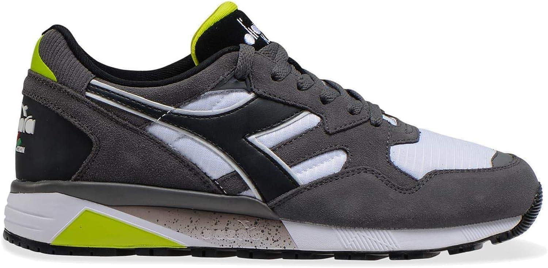 Diadora - Sneakers N9002 pour Homme C4400 Gris Tempête Noir