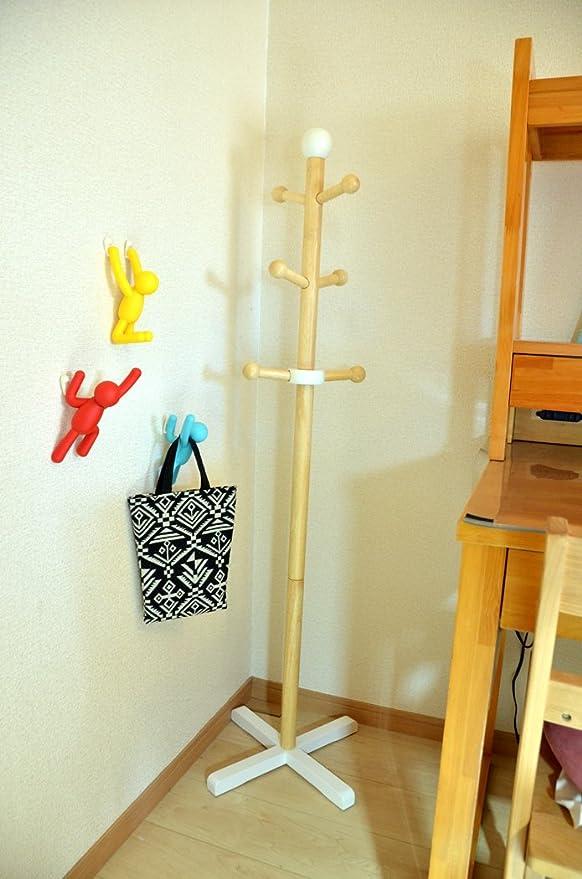 Amazon.com: Umbra Buddy Wall Hooks – Decorative Wall Mounted Coat ...