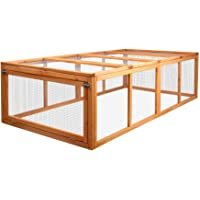 i.Pet Rabbit Hutch Chicken Coop Small Animal Cage