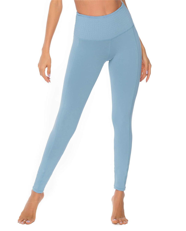 ulsfaar Energy Seamless Leggings Women High Waisted Yoga Sports Workout Gym Running Tights