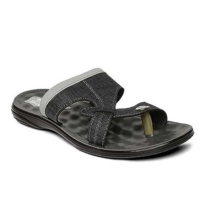 9ee54c1362ba PARAGON Vertex Men s Black Flip-Flops  Buy Online at Low Prices in ...