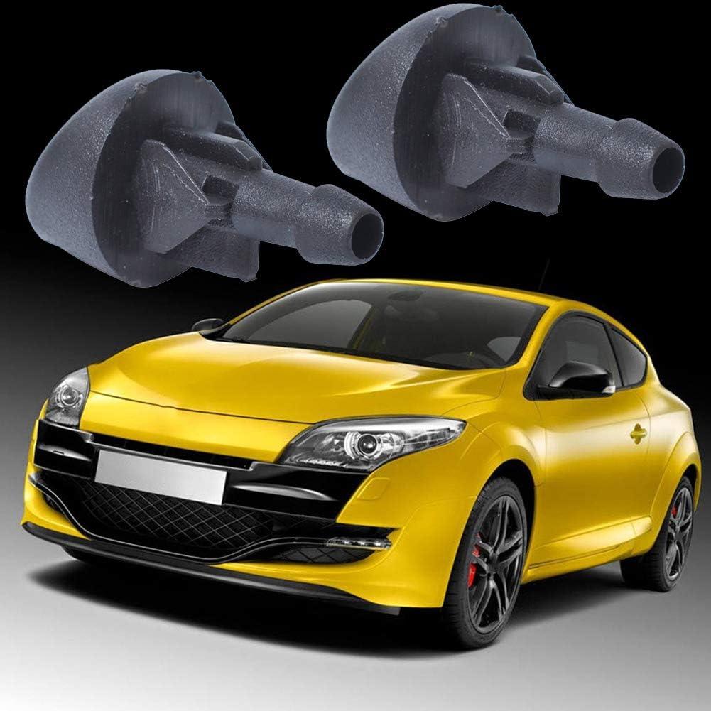 qhtongliuhewu 1 par de boquillas de Repuesto para limpiaparabrisas Delantero Izquierdo/Derecho para Renault Clio II 7700413545: Amazon.es: Coche y moto