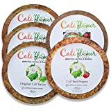 Cauliflower Pizza Crust- Variety Pack Bundle of 10 crusts
