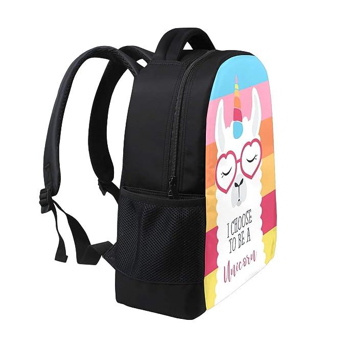 Amazon.com  Fashion Backpack Cute Fluffy Unicorn Llama Laptop Backpack  School Bag for Outdoor Work School  PLAO 84b028030dc5f