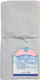 product image for NuAngel Flannel Receiving Blanket - Gray