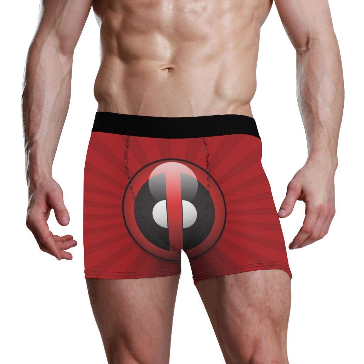 OPKSII MERC with A Mouth Headpool Boxer Briefs Mens Underwear Pack Seamless Comfort Soft