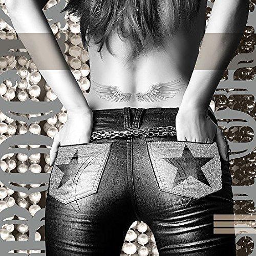Keilrahmen-Bild - F. Faveron: Girl Star 55 x 55 cm Fashion Art Leinwandbild