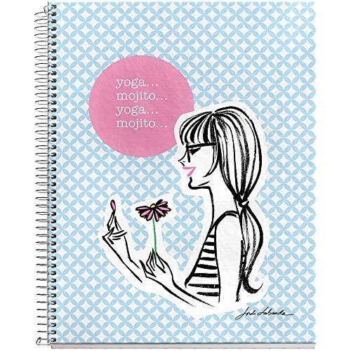 Notebook 6.5x8-Yoga Mojito