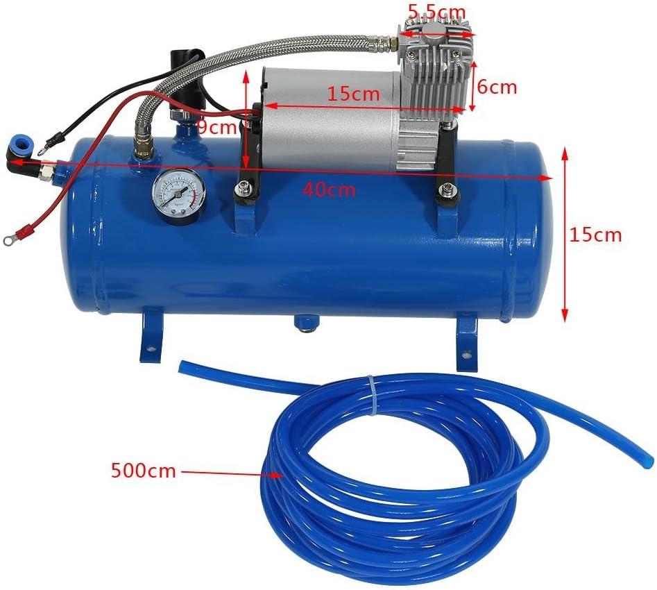 Mophorn Compresor de Aire Port/átil para Trabajo Pesado 12 V Bomba de Aire Kit de Compresor de Aire Mini Compresor de Aire
