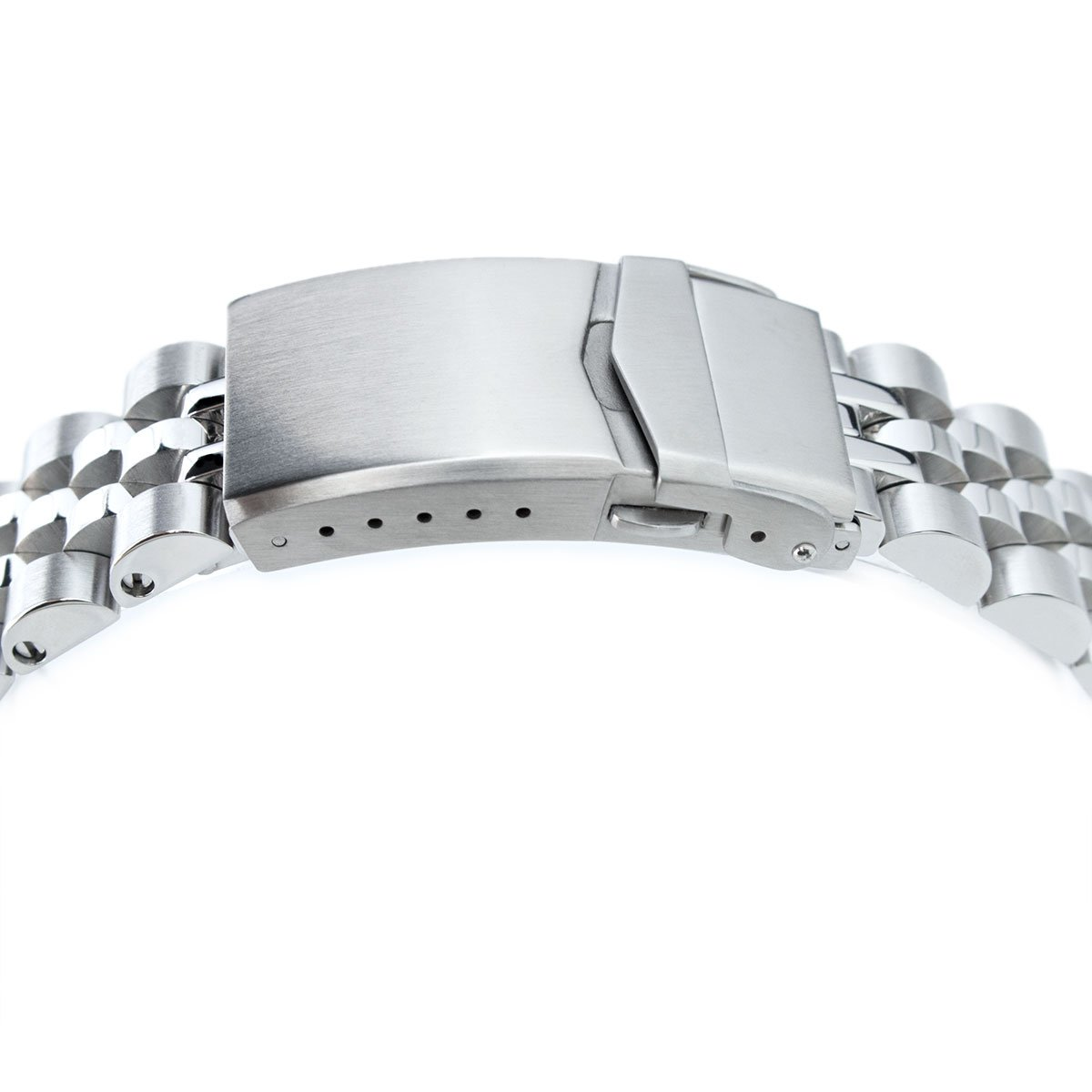 20mm Angus Jubilee 316L SS Watch Bracelet for Seiko Alpinist SARB017, V-Clasp by Seiko Replacement by MiLTAT (Image #4)