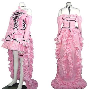 Cosplay Personalizar Vestido Traje Guoqueen M Eruda Rosa Chobits PTiOXuZk