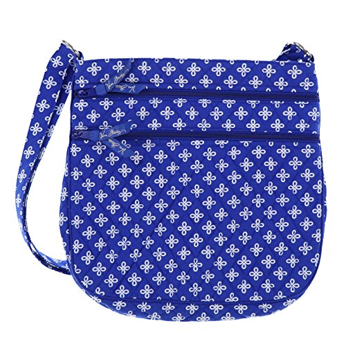 Vera Bradley Triple Zip Hipster (Royal/White Mini Concerto)