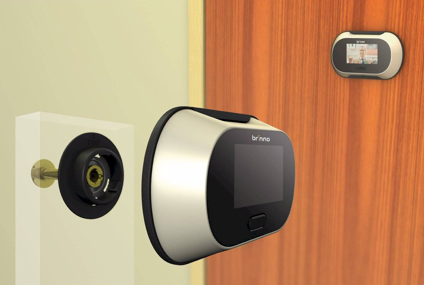 Brinno PHV1325 Digital PeepHole Viewer - Door Viewers - Amazon.com
