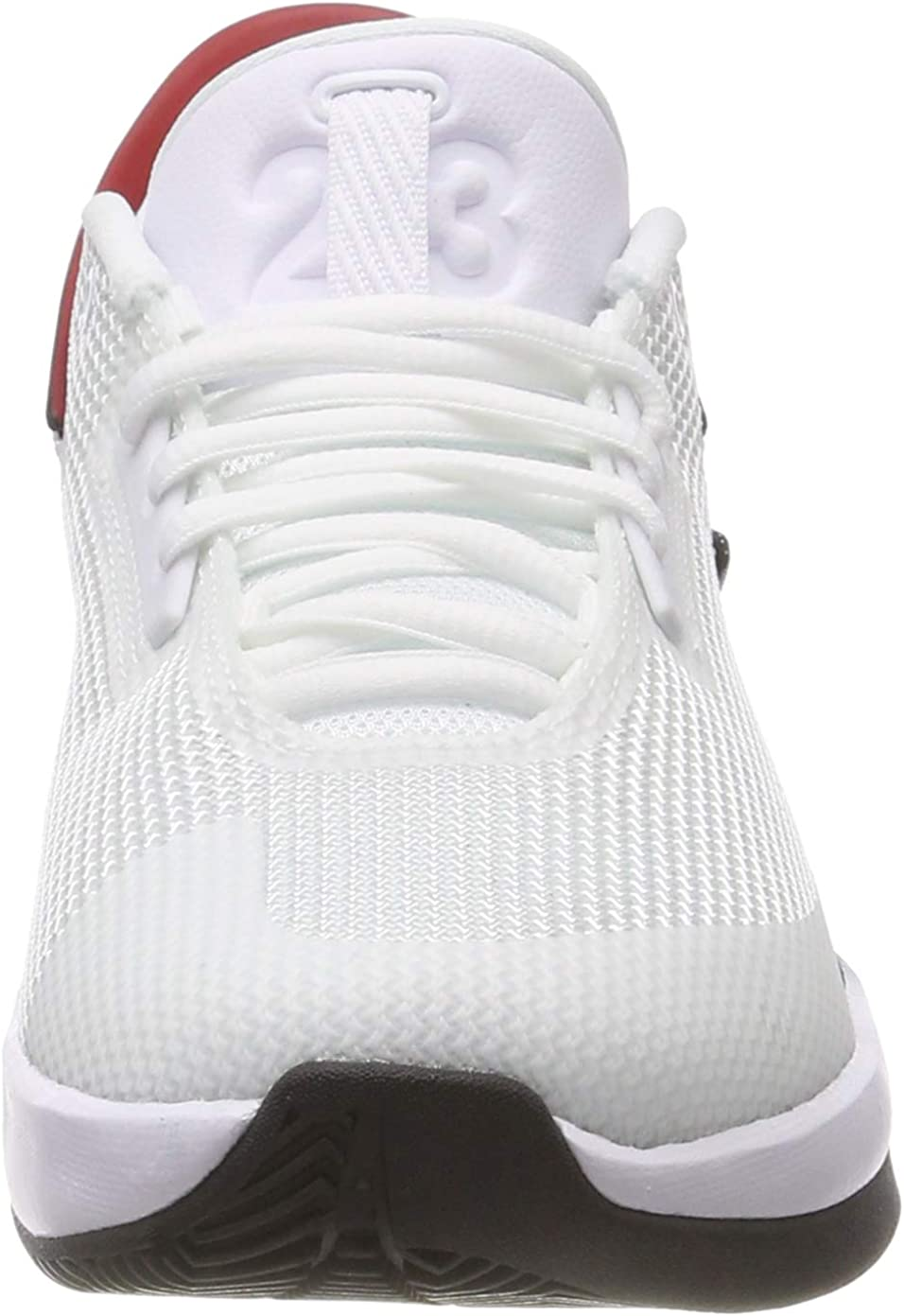 Jordan Fly Lockdown (GS), Chaussures de Basketball Homme Multicolore White Gym Red Black 100