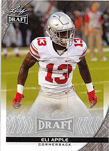 Eli Apple Football Card (Ohio State, New York Giants) 2016 Leaf Draft #30 Rookie