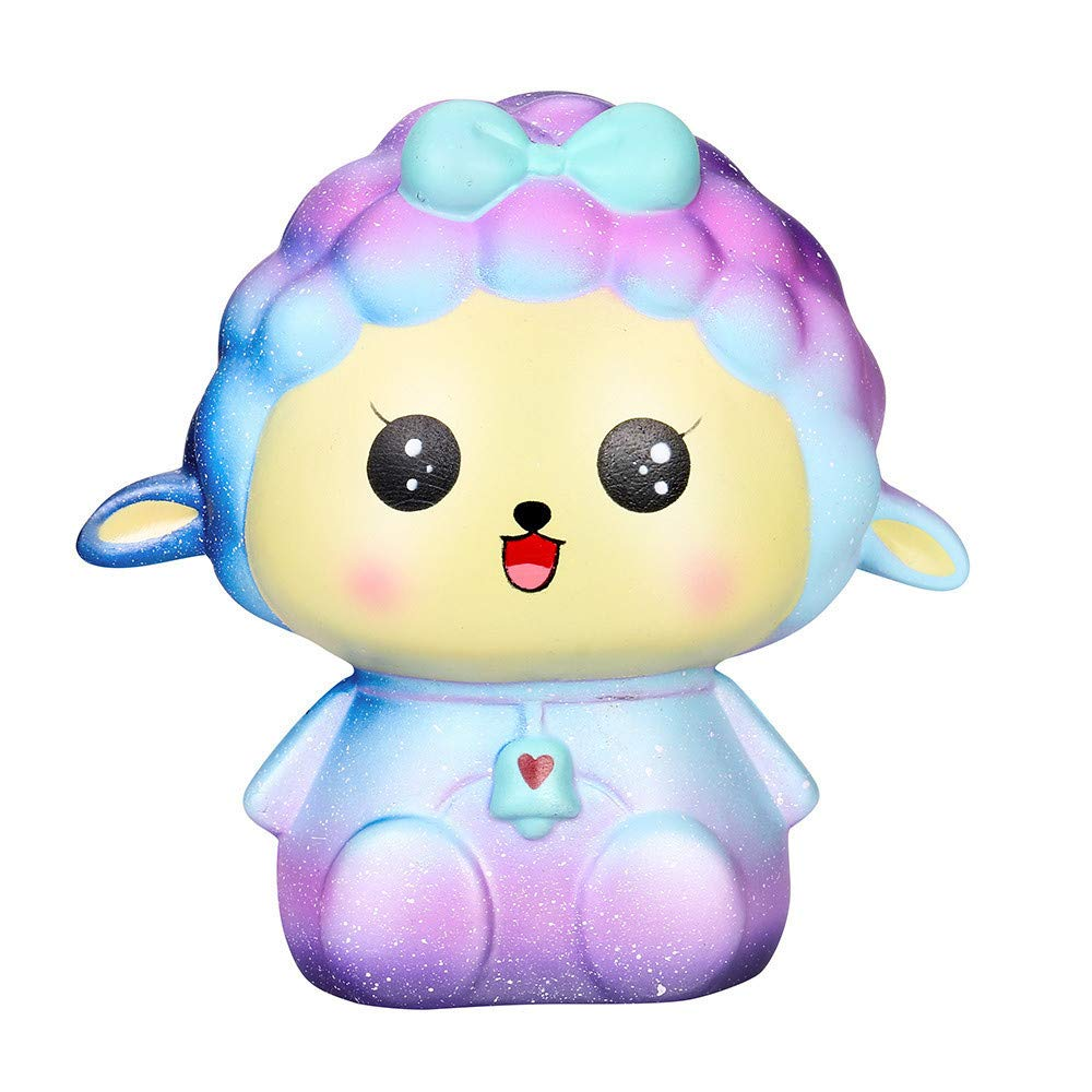 Kirbyates_Toys New Squishy Big Sheep Slow Rising Cream Squeeze Scented Jumbo Cure Stress Relief Toy