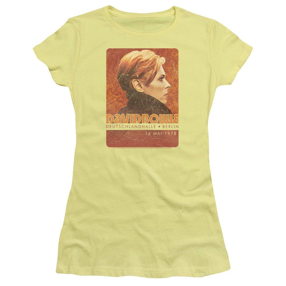 David Bowie Stage Tour Berlin 78 Sheer Cap Sleeve T Shirt 1589