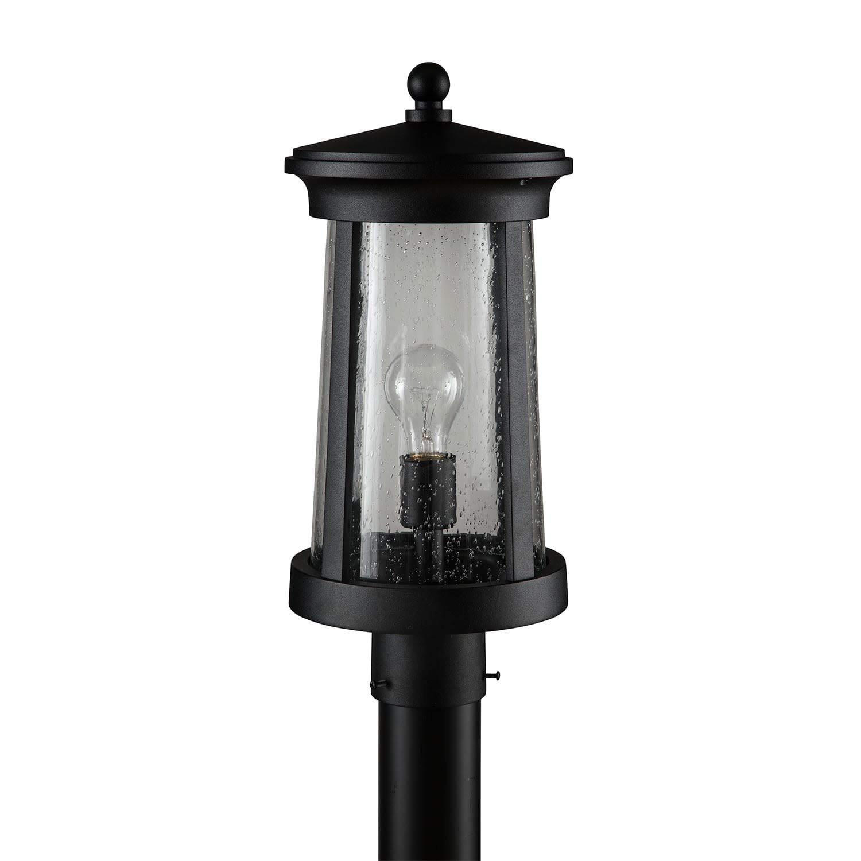 Miseno MLEL3103BLK Chestertown 17'' Tall Single Light Outdoor Post Light