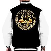 Cloud City 7 Cobra Kai Mercy is for The Weak Men's Varsity Jacket