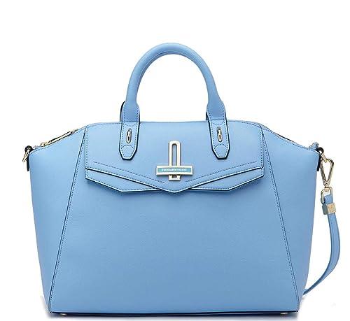 d1a3209173 Trussardi Jeans Borsa Donna Myrtle ecoleather Tote Bag Azzurro ...