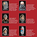 Hot Headz Polarex 6-in-1 Fleece Hood