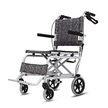 Sillas de ruedas Silla de Viaje Scooter aleación de Aluminio ...