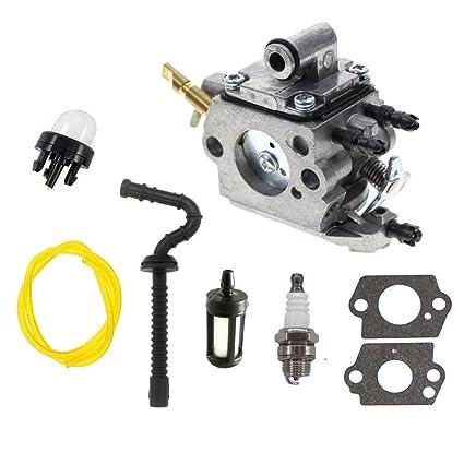 Amazon com: HQ parts Carburetor For Stihl MS192 MS192T